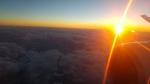 Sonnenuntergang über Adeladide